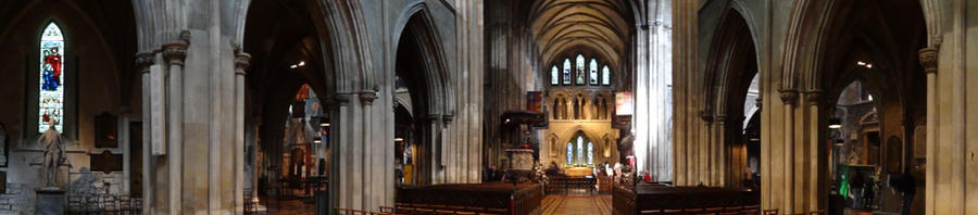 Inside St. Patrick's Cathedral by kageame