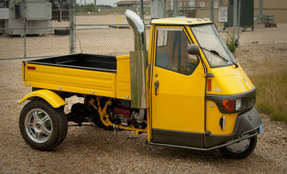 Piaggio Ape 50 by Weebl84
