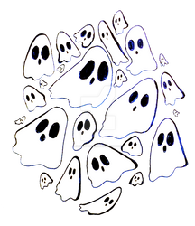 Inktober Ghosts