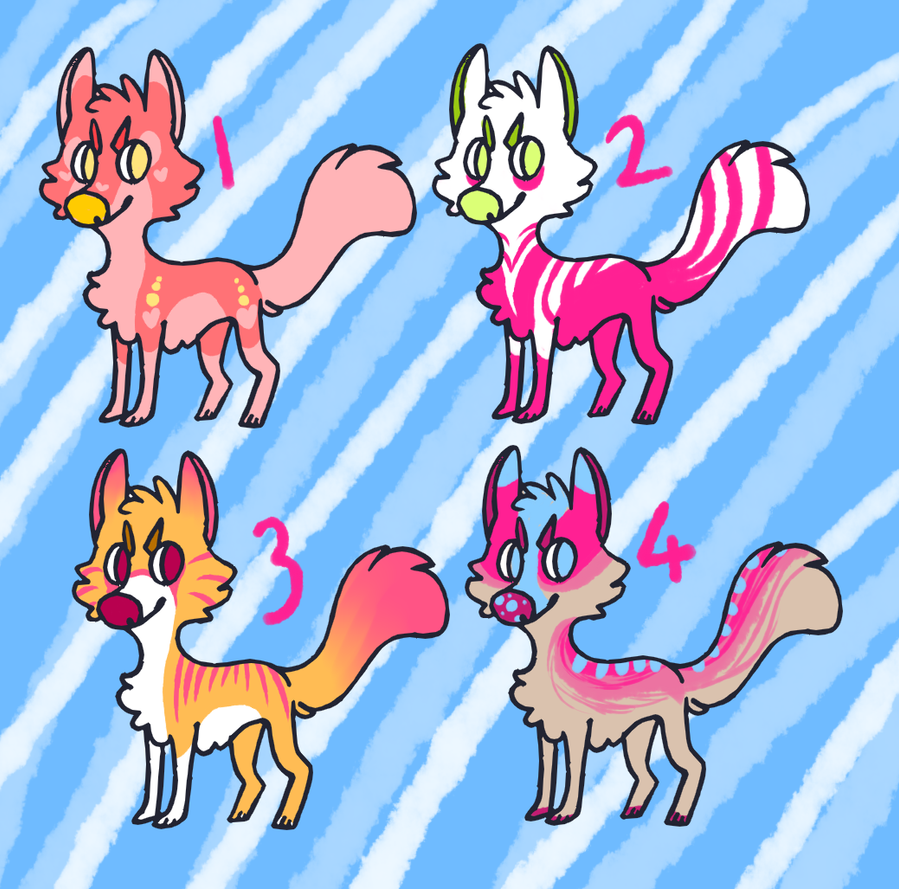 Pretty in pink ::Cheap point adopts:: by Rolly-Joger-Adopts