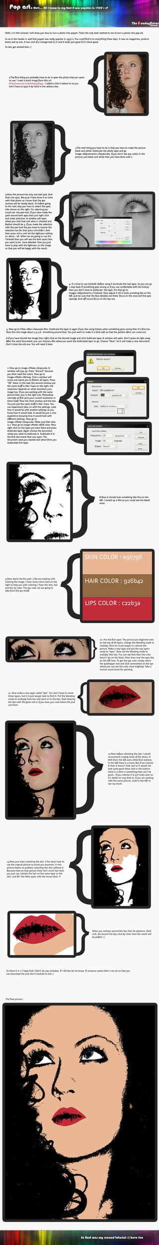 Tutorial: popart by TheSundayDriver