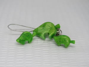 Animal Crossing Leaf Charm