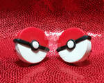 Pokeball studs by PardalisCat