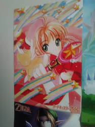 card captor sakura poster by silverhedgehog2009