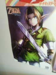 legends if zelda poster by silverhedgehog2009