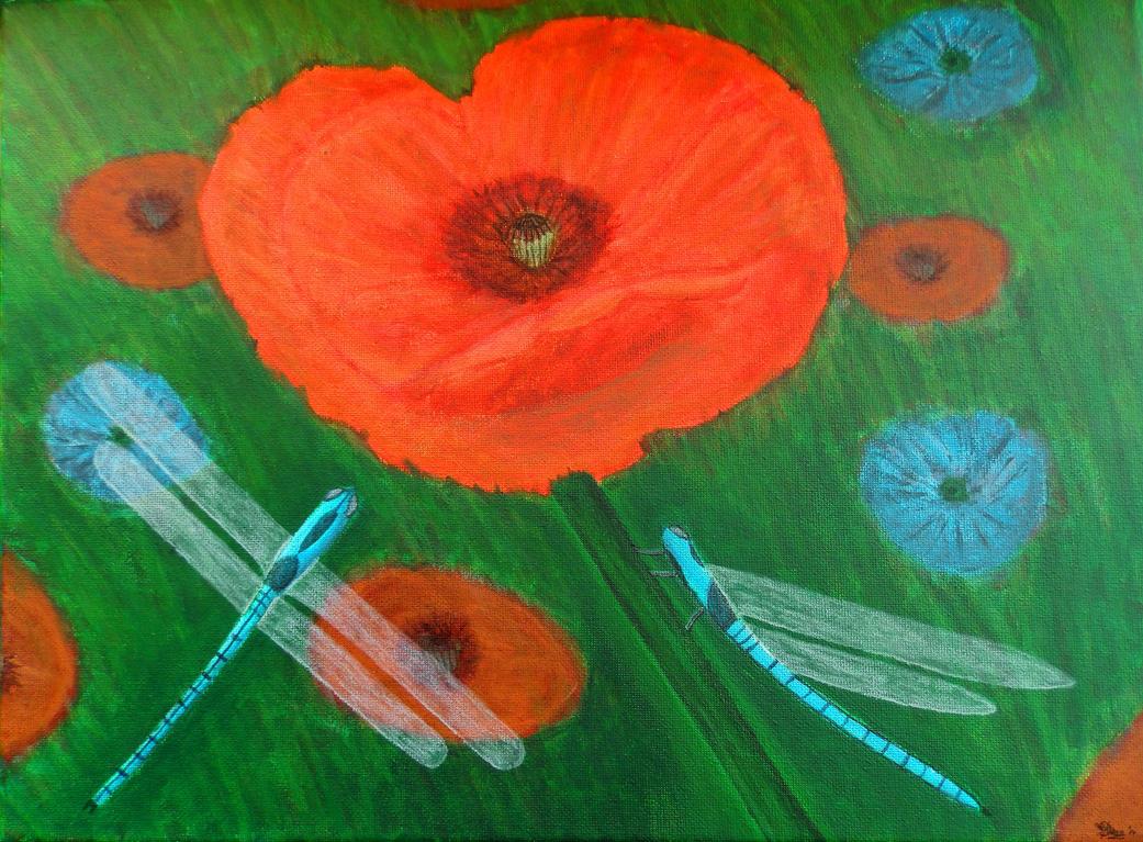 Poppy by daviddekleer