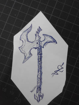 Axe I made in like 3 minutes