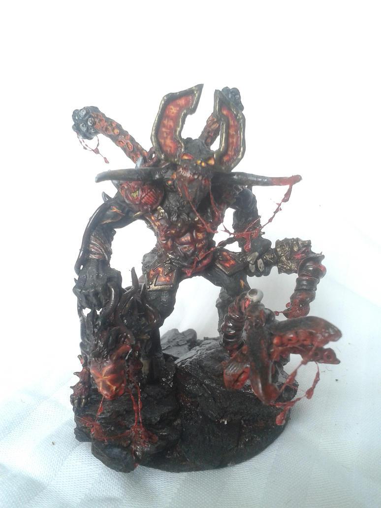 Khorne daemon prince by AlanBajric