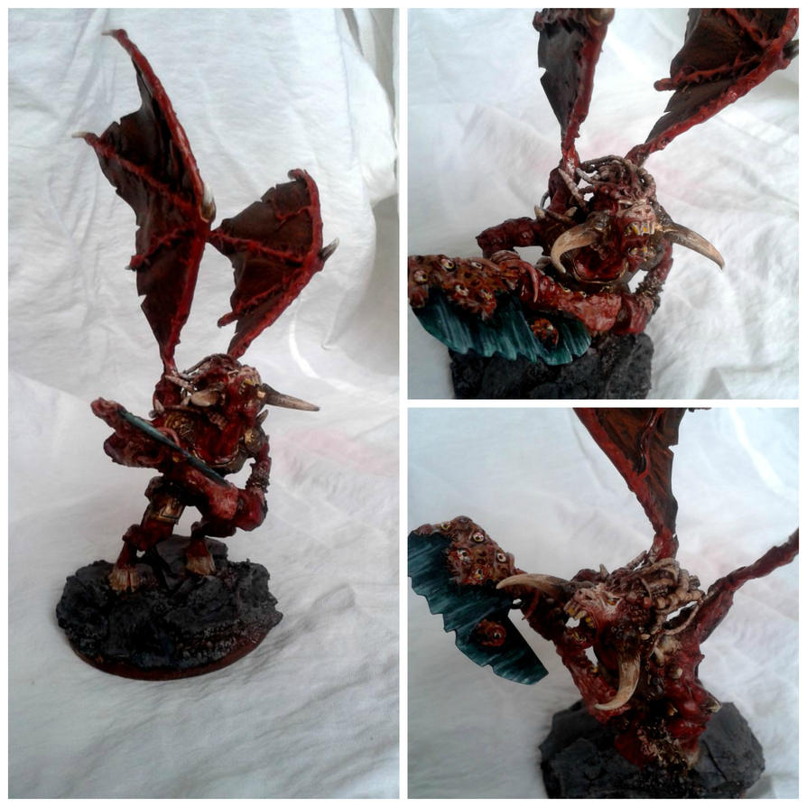 Bloodthirster collage by AlanBajric