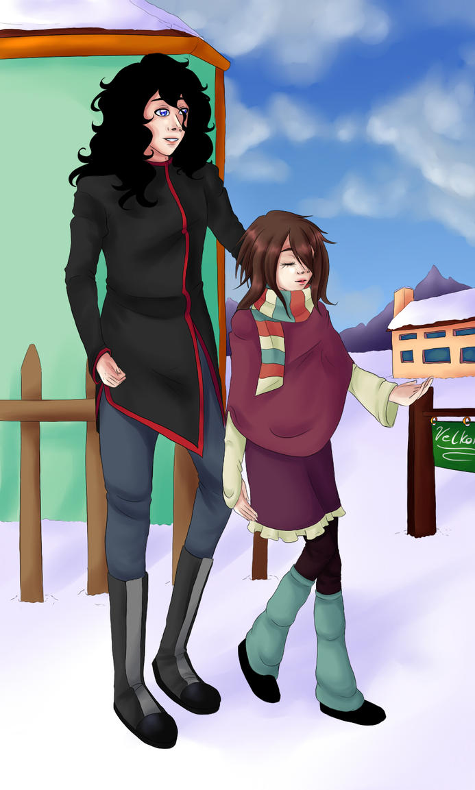 Under the sun of the shortest day by HoshiNoDestiny