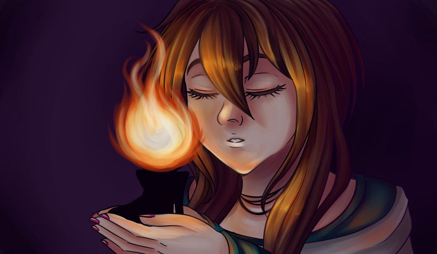 Kiss the flame by HoshiNoDestiny