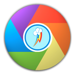 Rainbow Dash Icon for Google Chrome