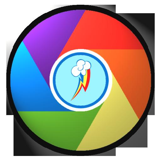 how to change google chrome icon windows 10