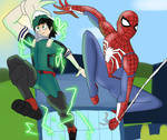Spidey and deku