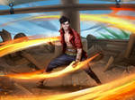 Flame Fists Pirate Monk