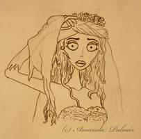 Corpse Bride - Emily by aamandapalmer