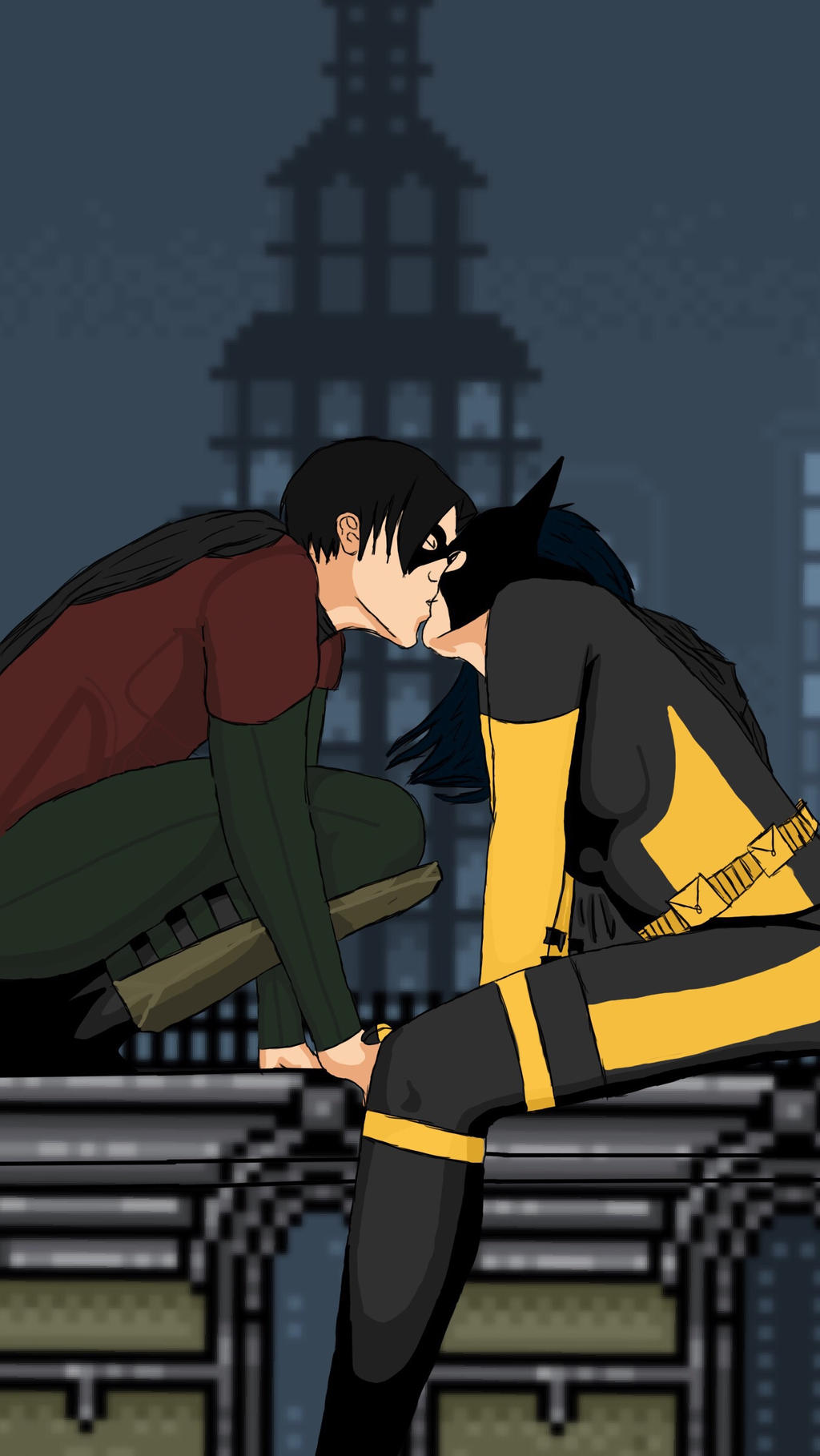 batgirl and robin start dating Add date: september 12, 2013,  oracle, barbara gordon, huntress, babs, barb, batgirl/robin, remembers, hallelujah, sad, tragic, dc  - start with 20 lucky.