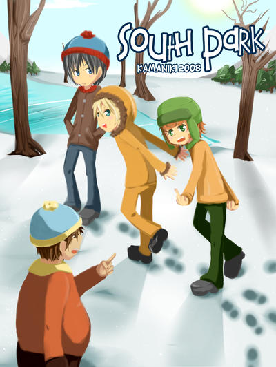 South Park: Starks Pond by Kamaniki