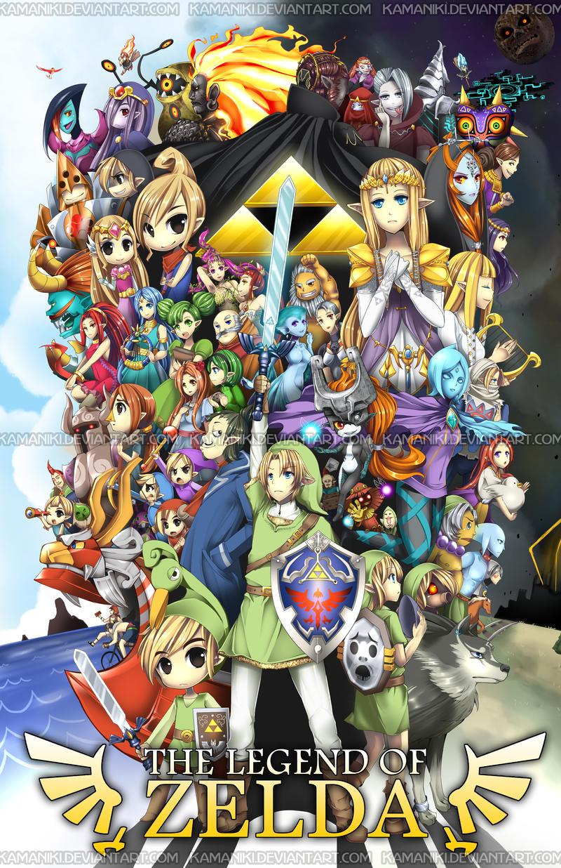 The Legend of Zelda by Kamaniki