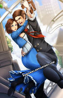 Bioshock Infinite by Kamaniki