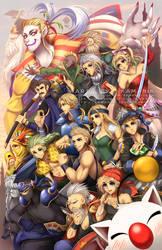 Final Fantasy 6 by Kamaniki
