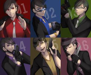 [Osomatsu-San] Mafia Matsu