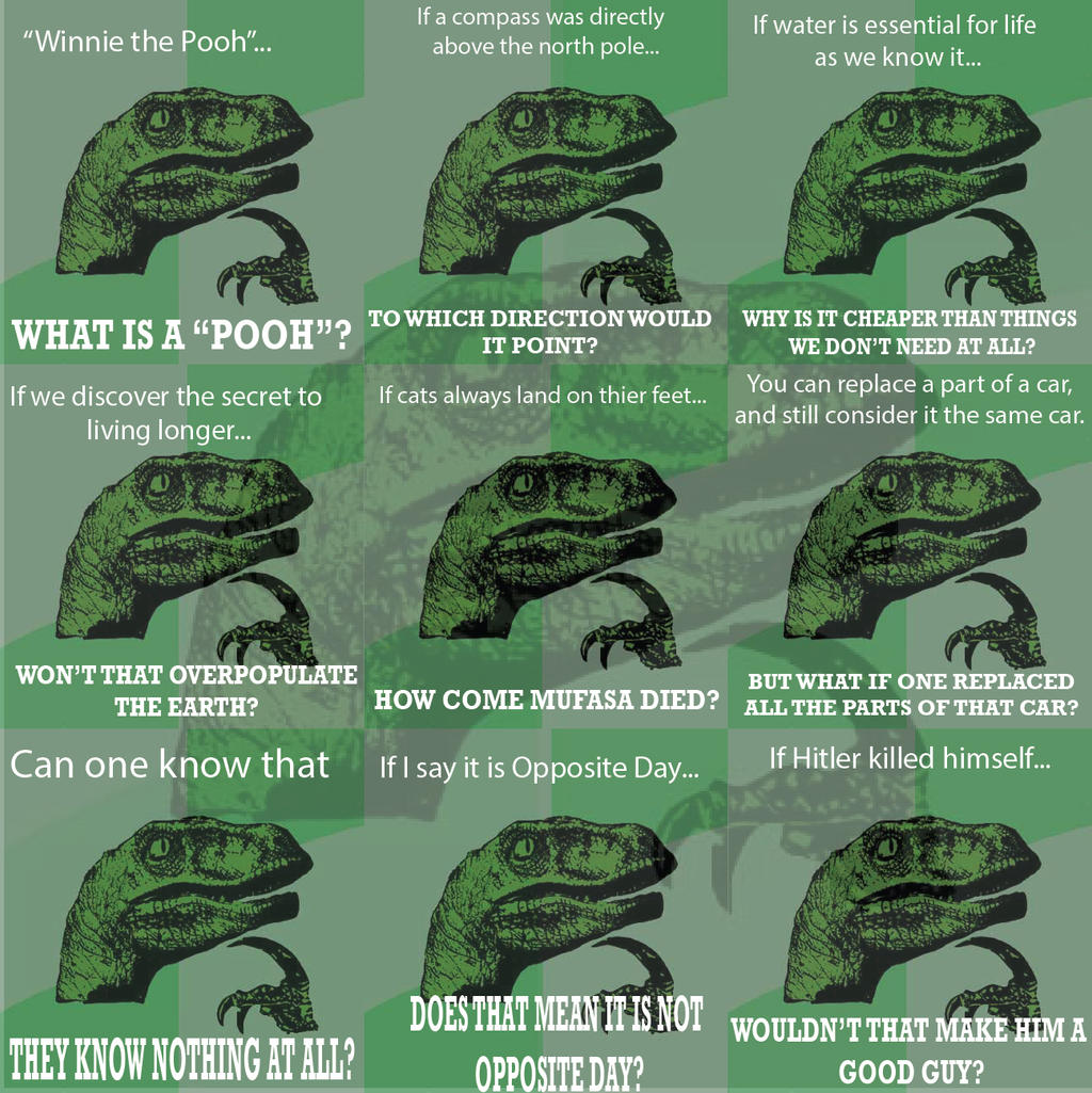 Philosoraptor Quotes. ...