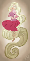 Rapunzel by Arwen28