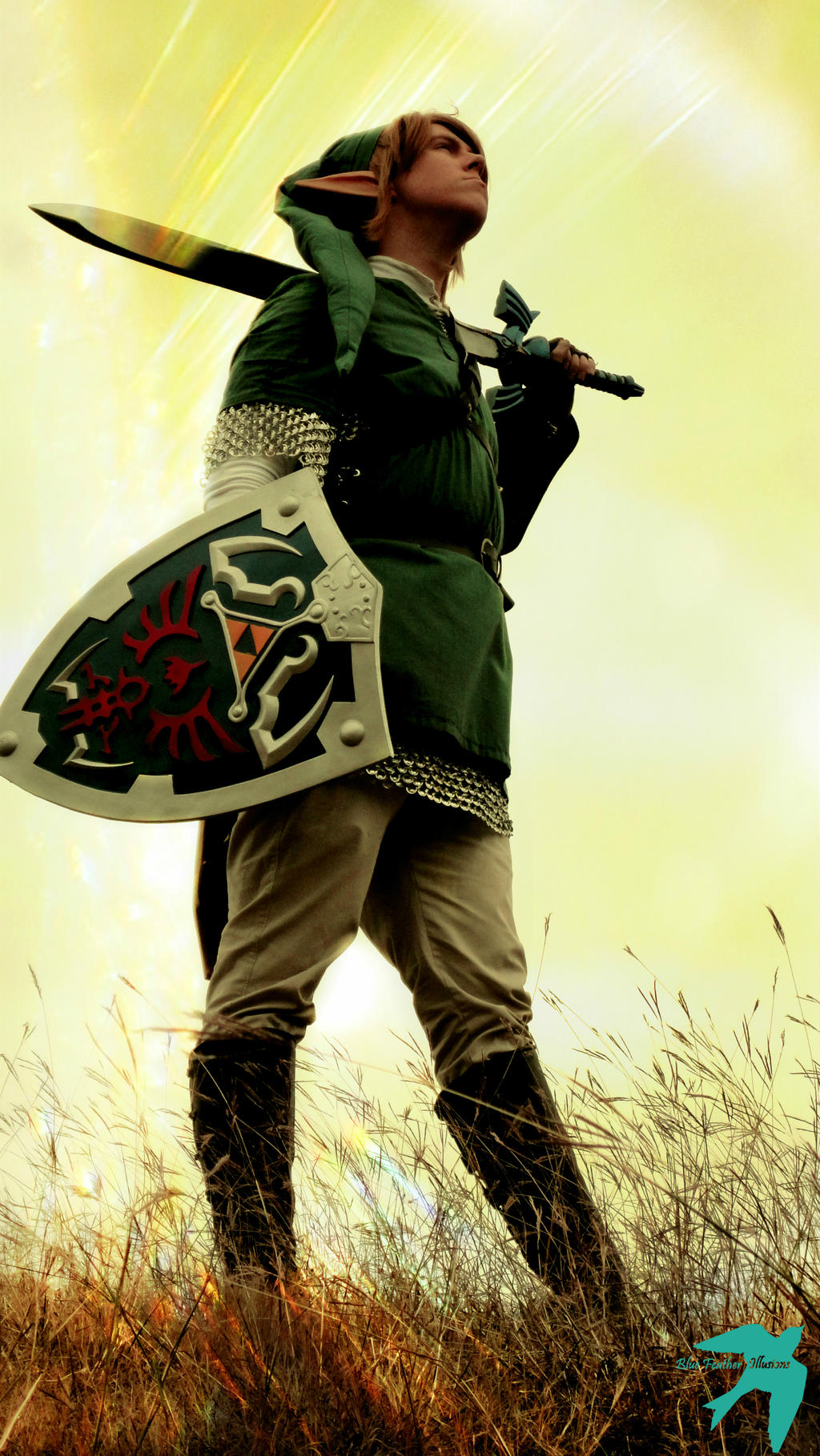 A Hylian Knight by dtsikorski