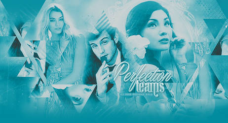 Perfection Teams Header by MurderMyHeart666