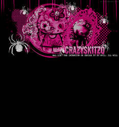 CrazySkitzo Header by MurderMyHeart666