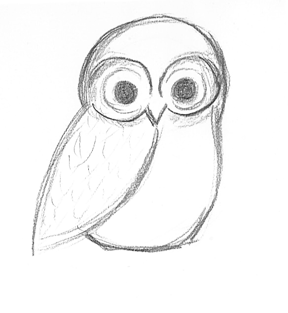 quick sketch owl by intoxicatingeyes on DeviantArt