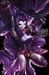 Raven Render by bleasse