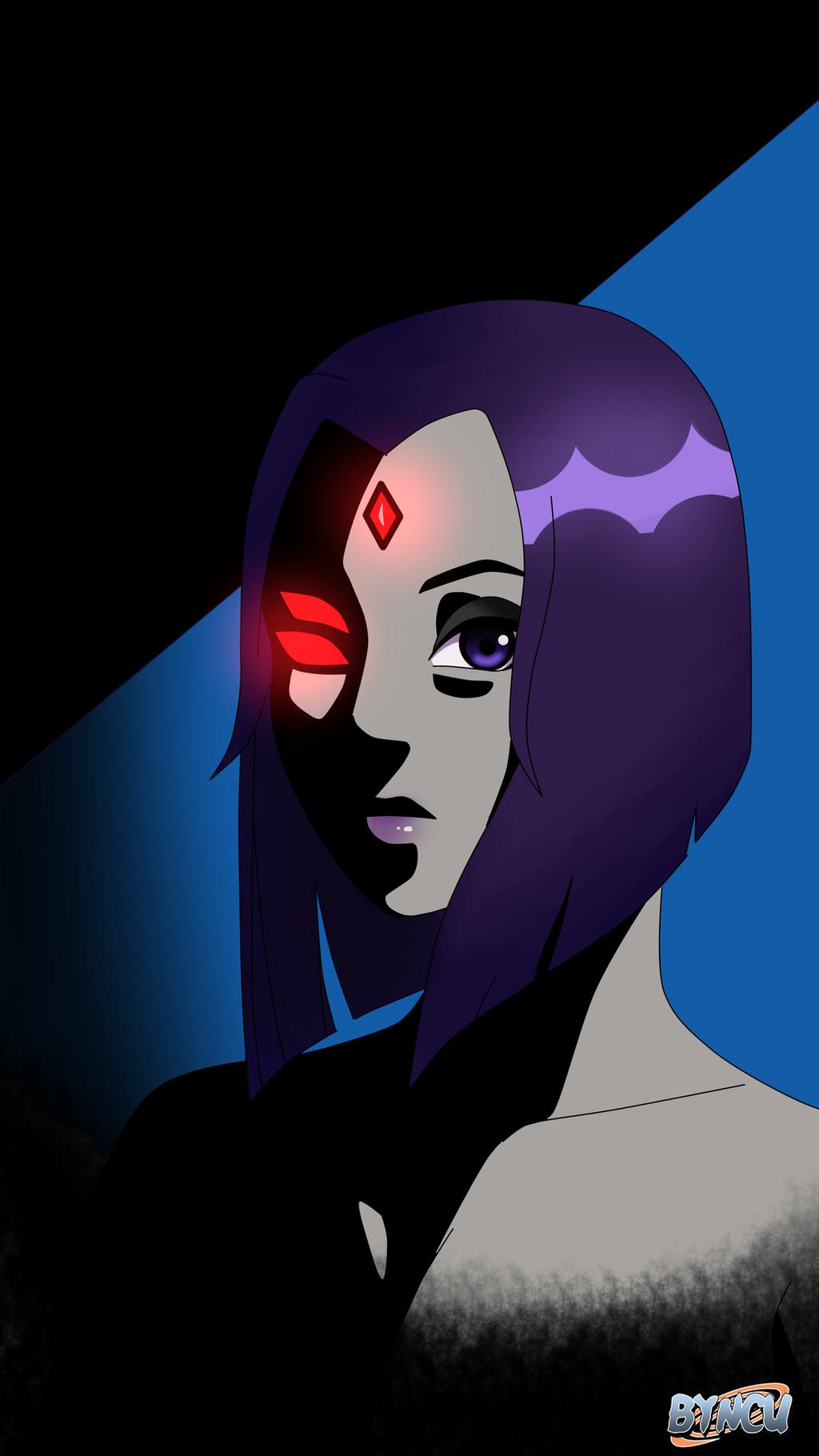 Raven Teen Titans Fan Art By Byncu-Uzumaki On Deviantart-9710