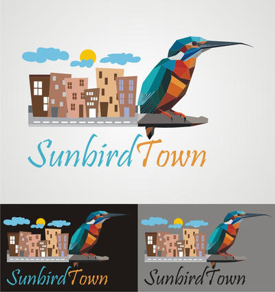 Sunbird Town Logo Option - 01 by kkashifkhawaja