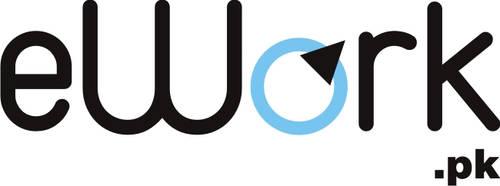 eWork-Logo by kkashifkhawaja