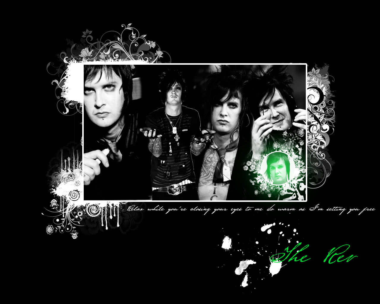 The Rev Drumming Wallpaper The Rev Wallpaper by