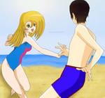 :Cheerfulshipping: Beach Day