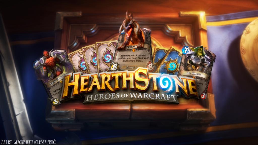 HearthStone Wallpaper By StrokeArts