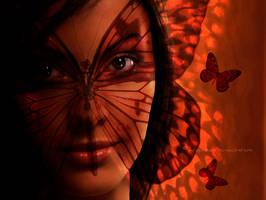 Butterfly eyes by Kricia