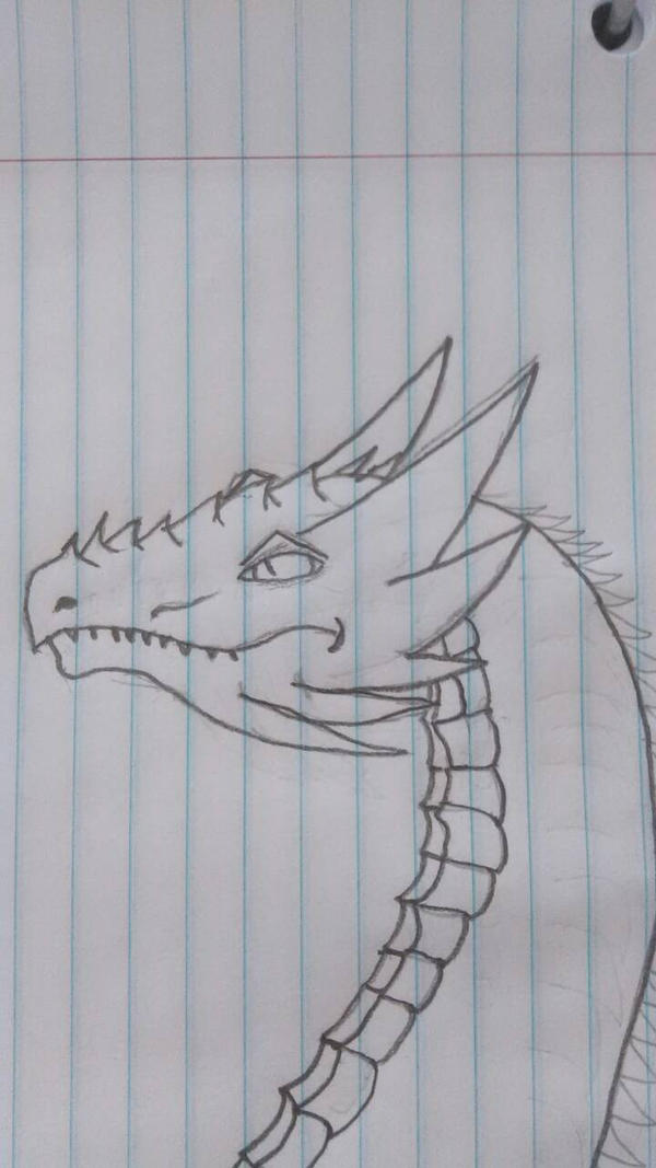 Abor, the winter dragon by DragonCall15