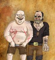 Mr Rorge and Mr Biter