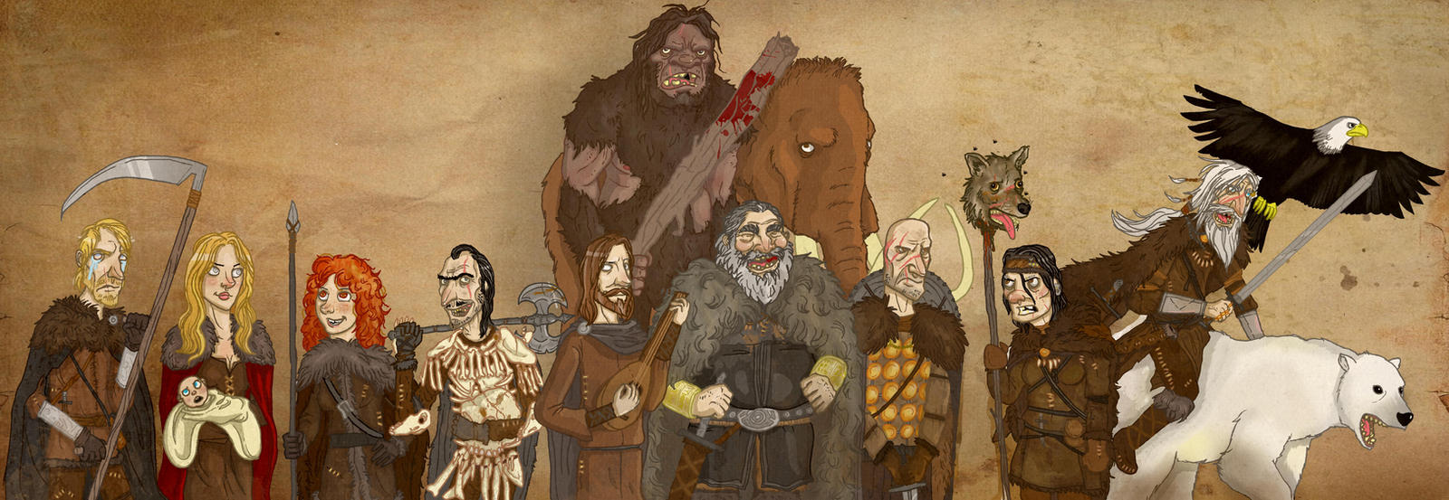 The King Beyond the Wall by Monkey19934