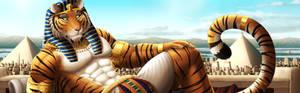 Eurofurence Banner - Pharaoh Tiger