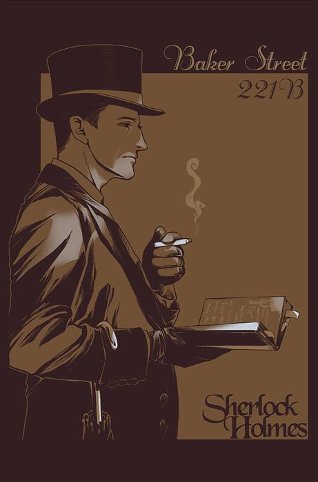 GALERIE GOODIES - Page 22 Sherlock_holmes_by_jamestheshark-d4iltz6