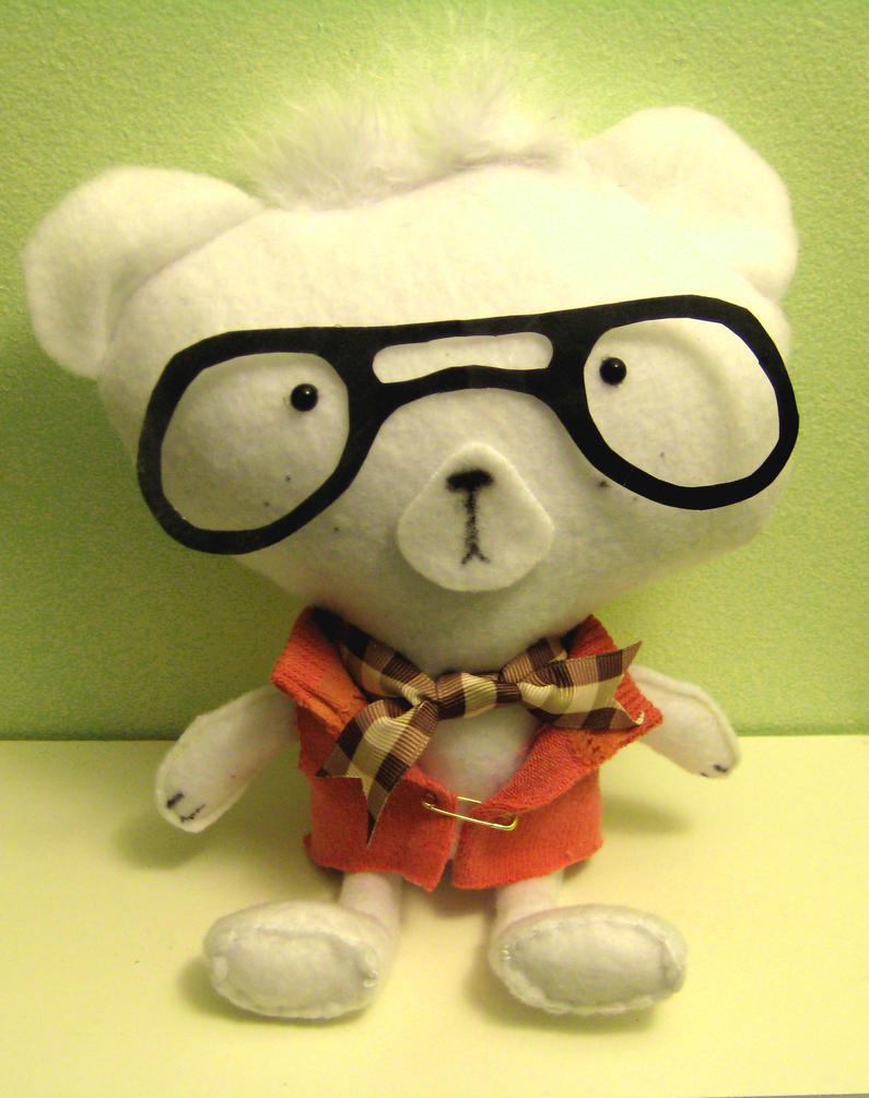 Charlie the Bear by Peach-Lemur
