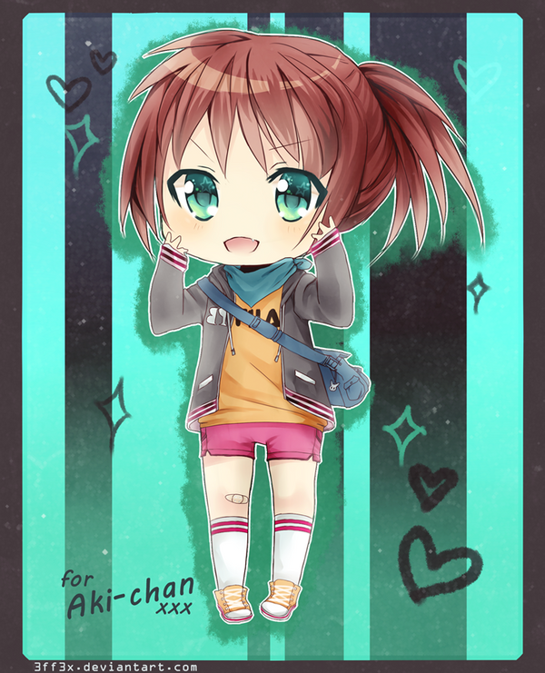 commission: akemima by 3ff3x