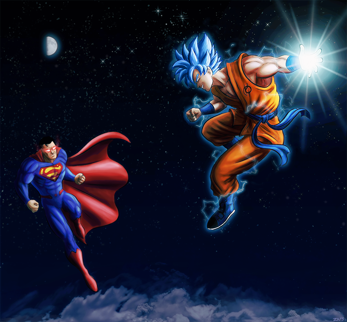 Goku vs Superman - Sparring Buddies by zachjacobs on ...