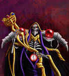 The Sorcerer King, Ainz Ooal Gown