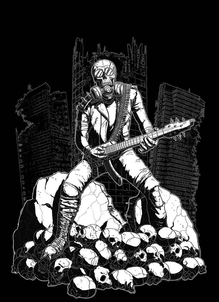 Braced4Impact Metal Shirt Design